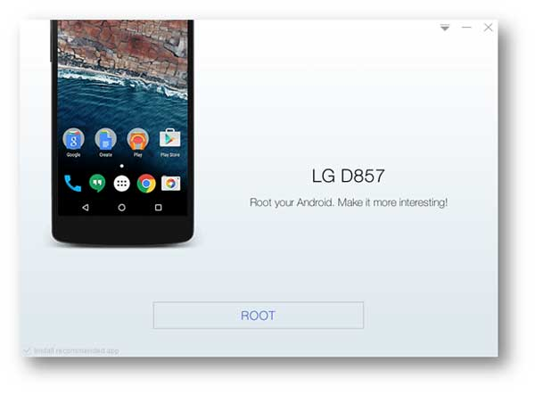 Android rooten mit Kingo Root