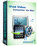 4Videosoft iPad Video Converter für Mac