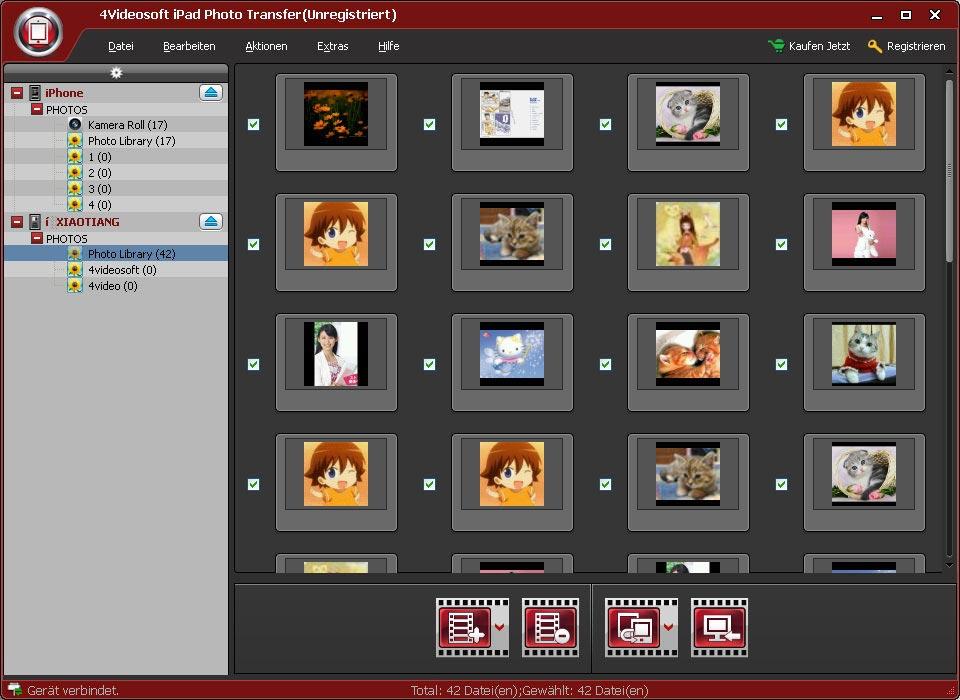 ipad photo transfer ipad fotos auf computer kopieren und fotos von pc auf ipad bertragen. Black Bedroom Furniture Sets. Home Design Ideas