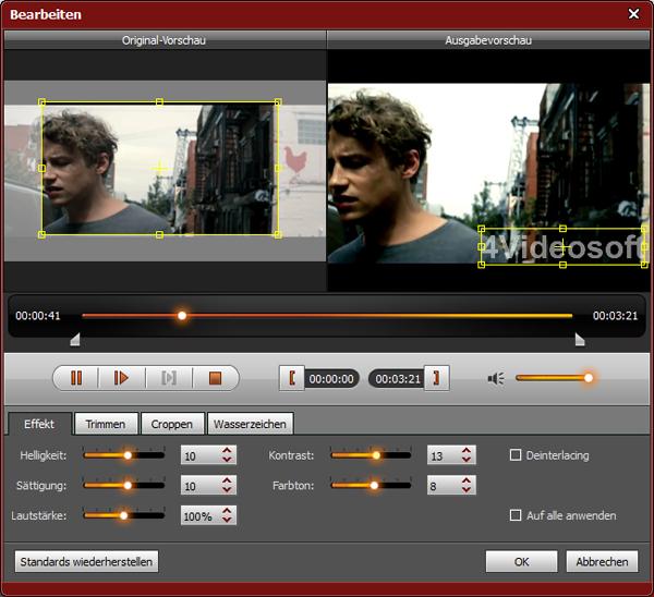video helligkeit bearbeiten